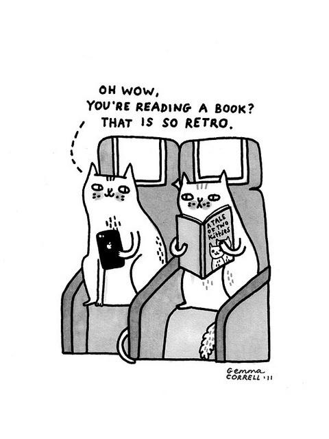 unisco passione per gatti libri e treni e rebloggo da pagine strappate