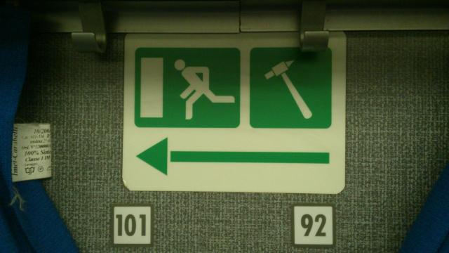 In treno può succedere di tutto... meglio essere preparati!